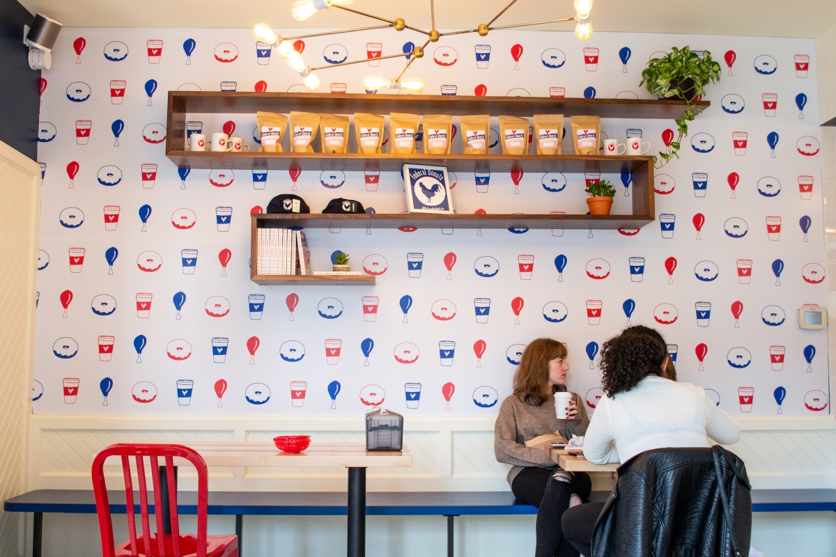 A Quick Donut Break at Federal Donuts' new South Streetlocation