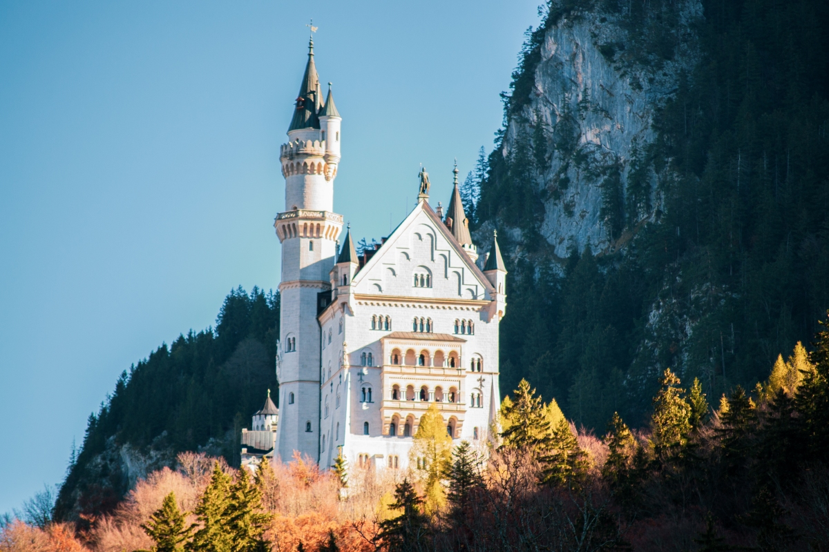 A visit to real life fairy tale castle and beautifulBavaria